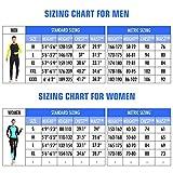 COPOZZ Rash Guard, Full Body Thin Wetsuit, Lycra UV...