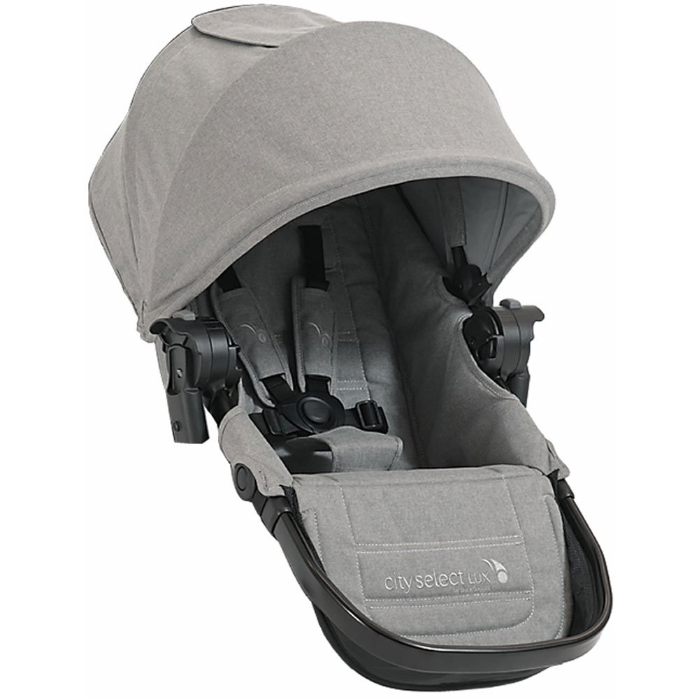 Baby Jogger City Select Lux with Second Seat Double Stroller - Slate by Baby Jogger (Image #3)