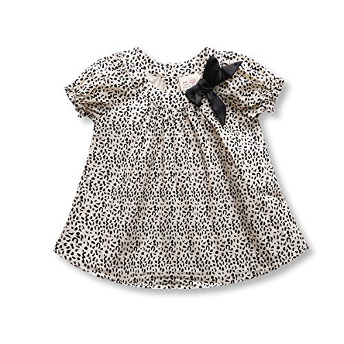 Baby Blouse, Toddler Girl Top Fashion Leopard Print Bottom Tee