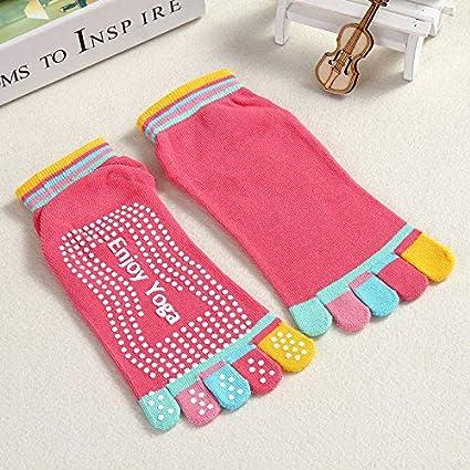 Skyeye Calcetines antideslizantes para calcetines Lady Socks Yoga Socks