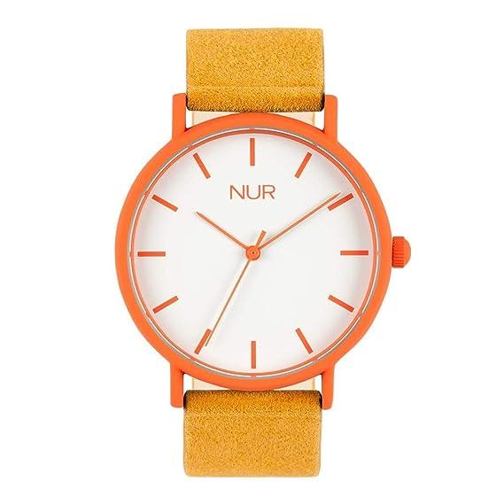 b12b2a93bec0 Nur Gaia - El Reloj de Hombre o Reloj de Mujer Perfecto para Regalo ...