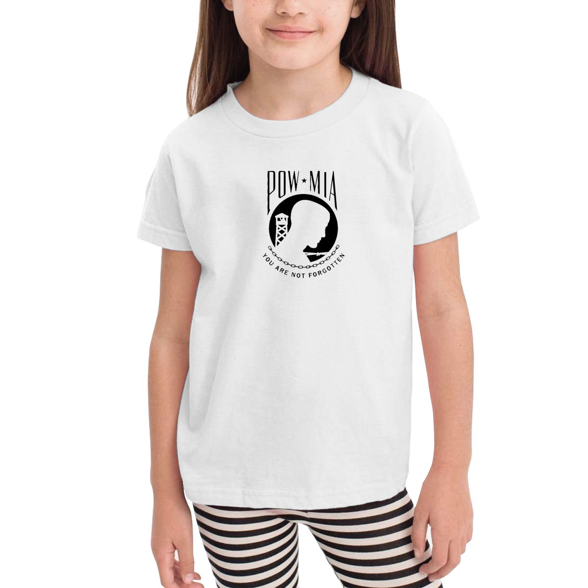Onlybabycare POW MIA Flag 100/% Cotton Toddler Baby Boys Girls Kids Short Sleeve T Shirt Top Tee Clothes 2-6 T