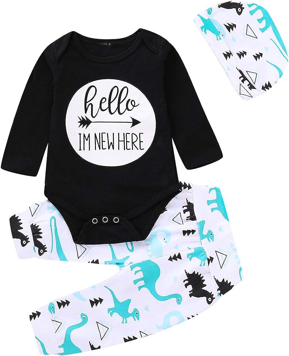 puseky Baby Little Miss Sassy Pants a Maniche Lunghe Ruffle Pagliaccetto Floreale Pantaloni Fascia Set di Vestiti