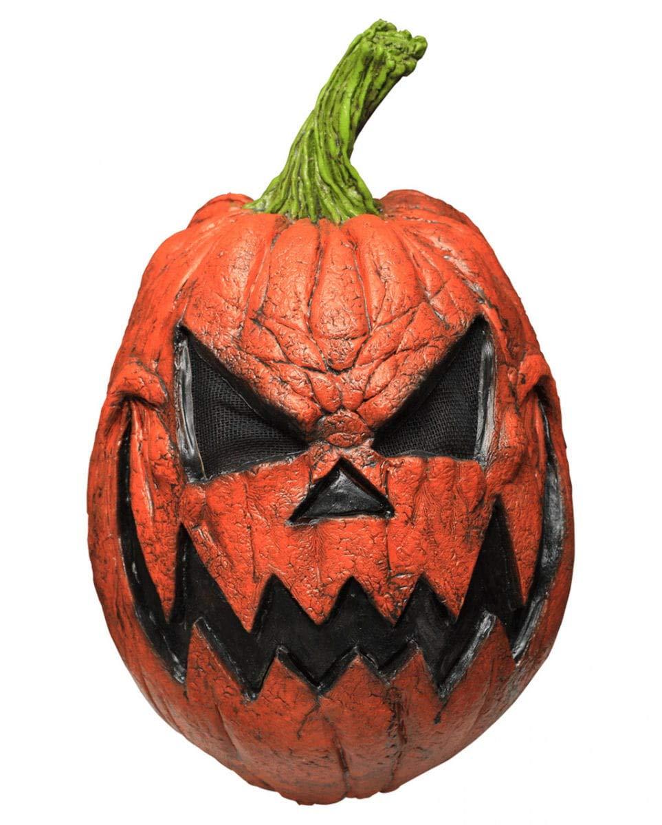 Horror-Shop Pumpkin Maske Maske Maske Kürbiskopf | für Erwachsene 1c7d43