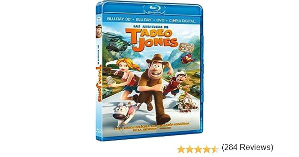 Tadeo Jones [Blu-ray]: Amazon.es: José Mota, Michelle Jenner, Enrique Gato, José Mota, Michelle Jenner: Cine y Series TV