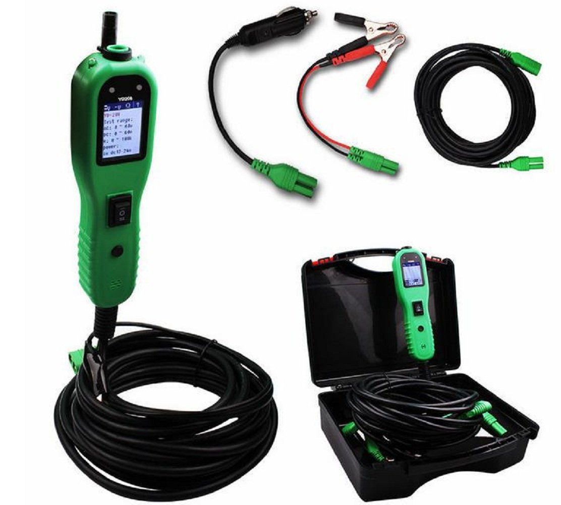 YD208 Car Electric Circuit Tester Automotive Tools Auto 12V-24V Voltage Power Probe Same as PS100 Electrical System Tester by Outzone (Image #3)