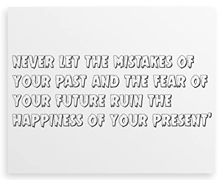 Fear of past mistakes