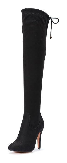 c0d71015ae51 TRUFFLE COLLECTION Women s Black Boots-6 UK India (39 EU) (TC-SHABA1 ...