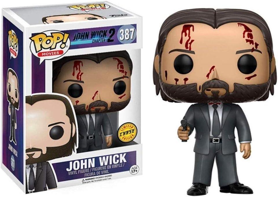 WRZHL Películas - John Wick Limited Ver.Figura de acción Coleccionable Exquisita Caja de Embalaje Modelo de Juguete de Escritorio/Estante de exhibición 3.9Inch Products Around Action: Amazon.es: Hogar