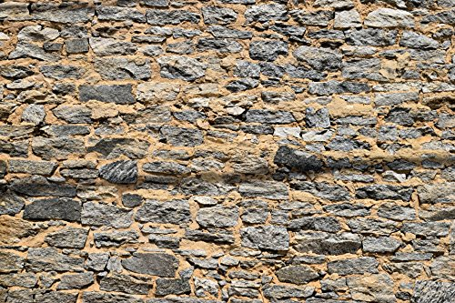 Laminated Poster Stone Wall Background Print