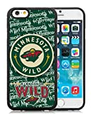 img - for Generic iPhone 6 TPU Case,Minnesota Wild 5 Black Cover Case For iPhone 6S 4.7 inches book / textbook / text book