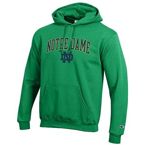 e22989b63 Elite Fan Shop Notre Dame Fighting Irish Hoodie Sweatshirt Arch Kelly Green  - M