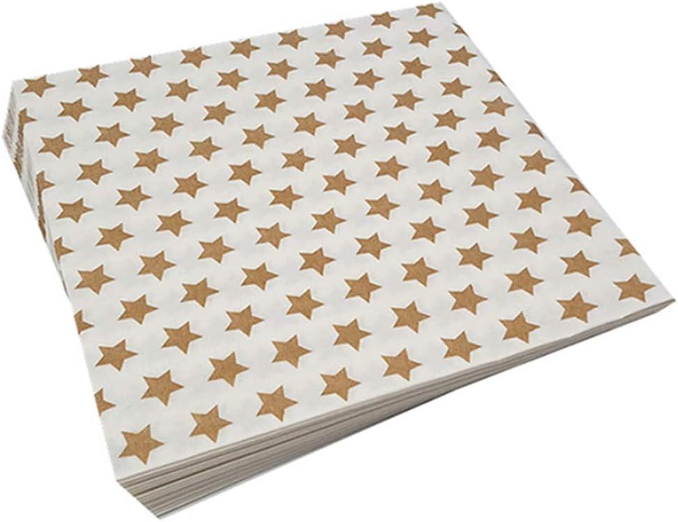 Amazon.com DODOMI Stars Table Paper Napkins Decoupage