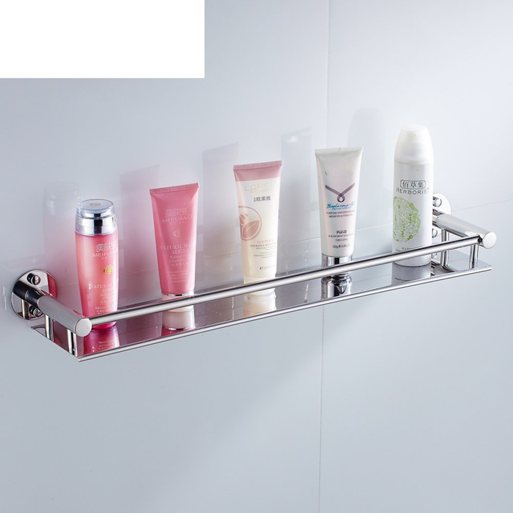 Stainless steel bathroom shelf /Wall-mounted bathroom mirror ...