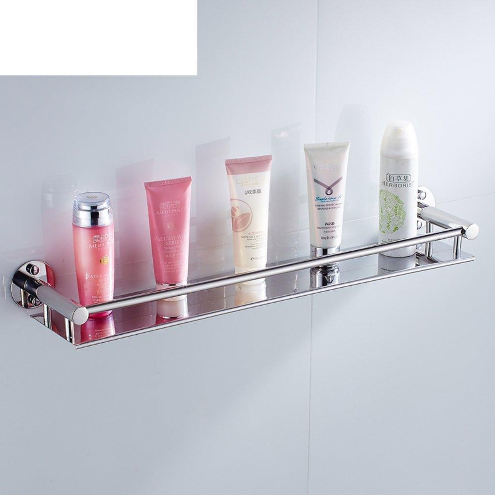 Stainless steel bathroom shelf /Wall-mounted bathroom mirror ...