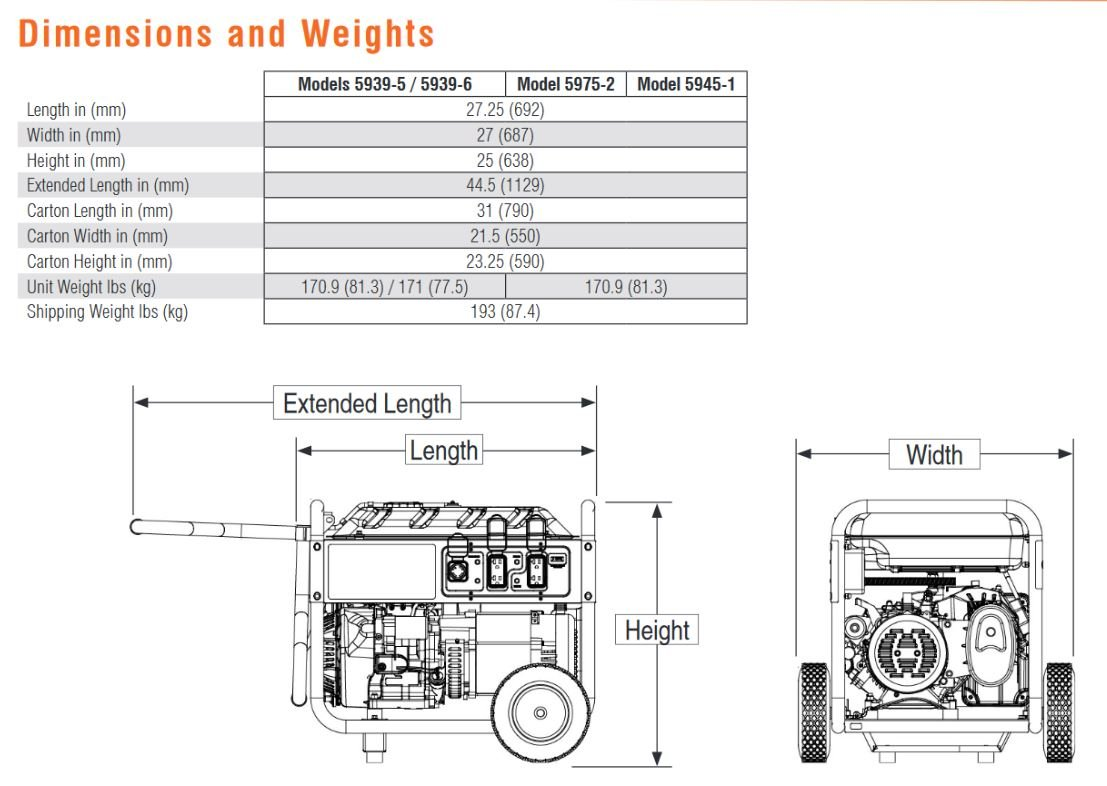 generac 4000xl engine diagram