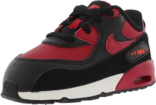 Nike Air Max 90 LTR (TD), Baskets Basses Mixte bébé, Rouge