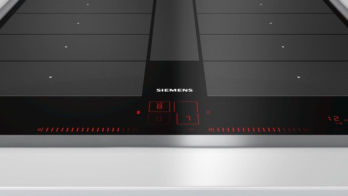 Siemens ex645lyc1e iQ700 hobs eléctrico/vitrocerámica/vidrio y cerámica/58,3 cm/Power Boost Función/Negro