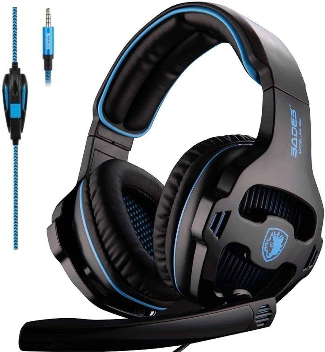 2018 Newest SADES SA810 Gaming Headset