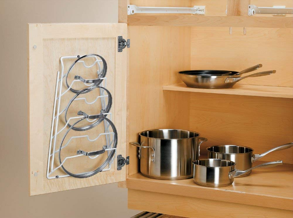 Organize It All Cabinet Door Lid Rack by Organize It All: Amazon.es: Hogar