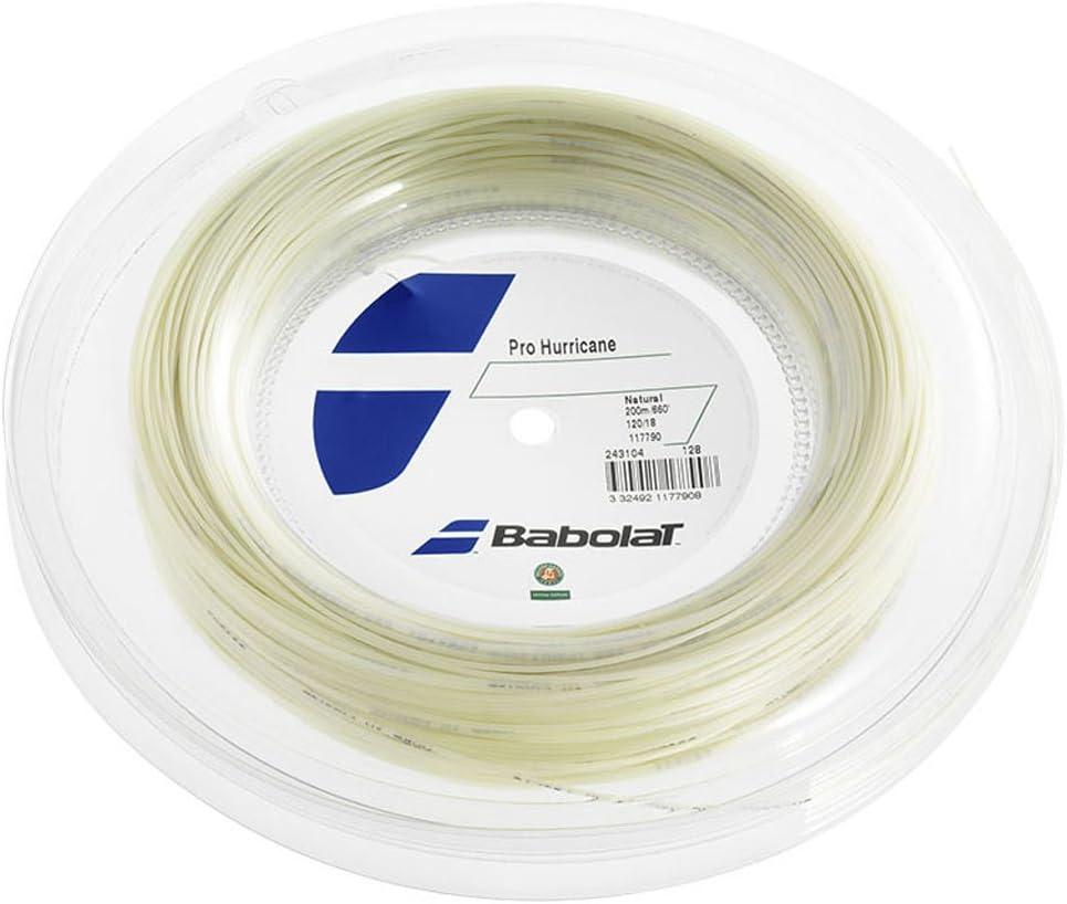 Babolat Pro Hurricane 200m Cordaje de Tenis Unisex Adulto