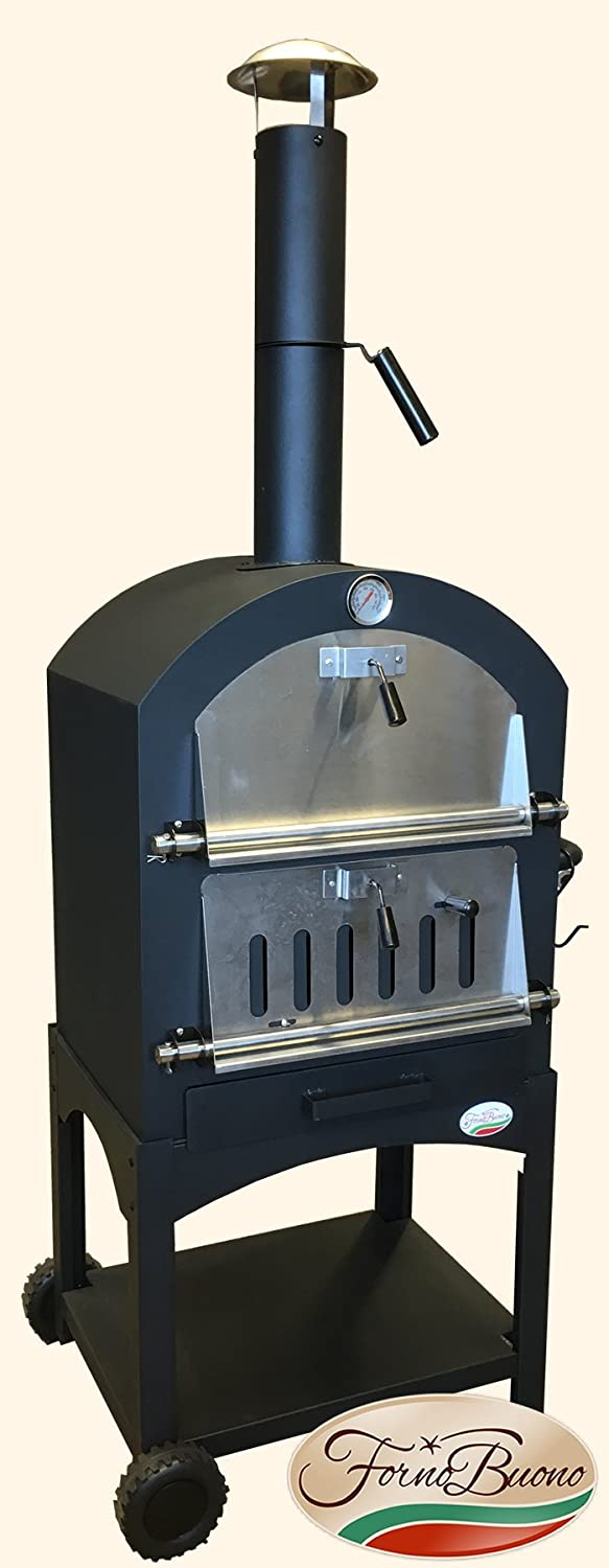 FORNO BUONO® NAPOLI OUTDOOR WOOD-FIRED / CHARCOAL FIRED PIZZA OVEN