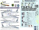 Afterburner Decals 1:48 East Coast Edmo Eagles for Hasegawa #AD48-006