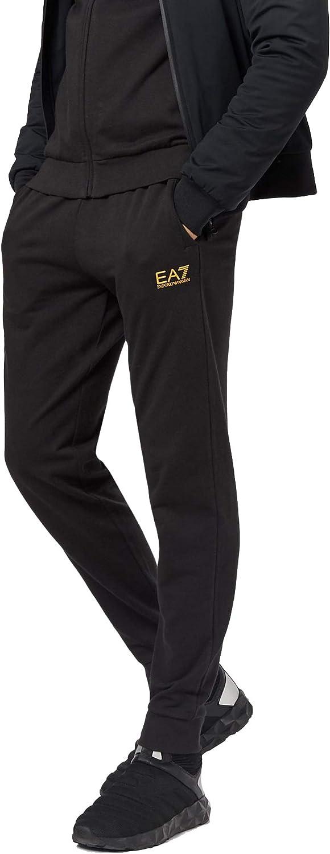 EA7 Joggingpak Heren zwart - wit
