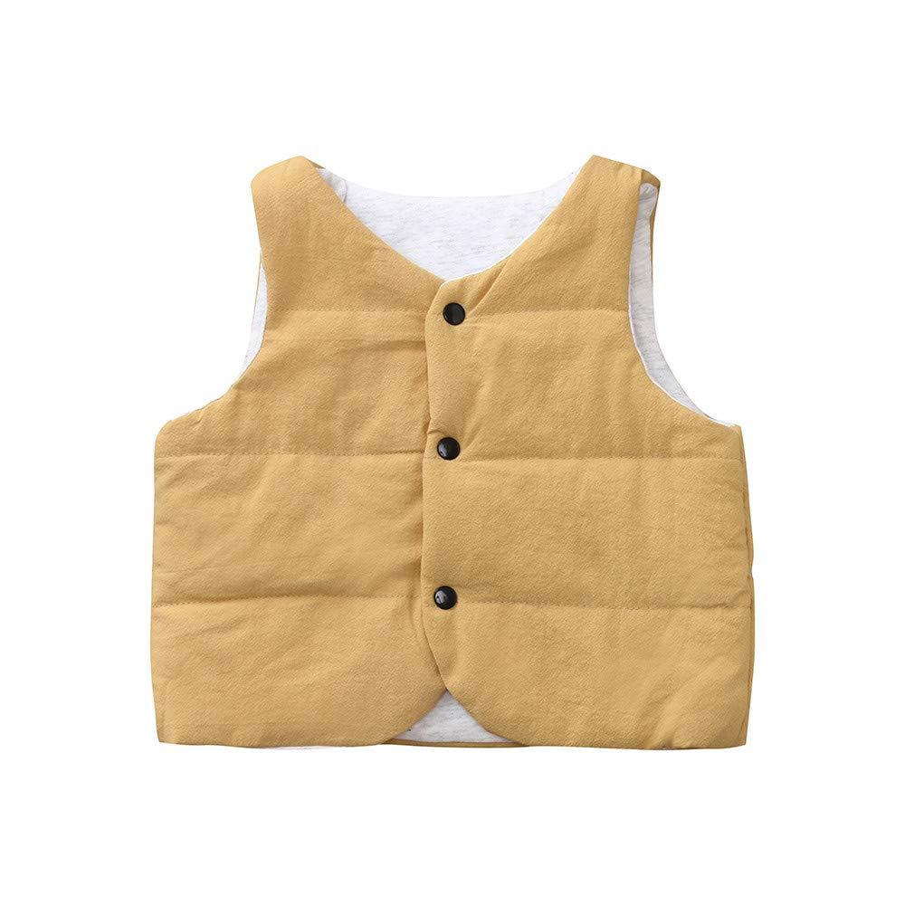 Bebé abrigo, mamum Niñas Niños chaquetas sin mango polares ...