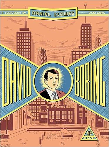 Dan Clowes Whimsical Fantasy Homage To >> David Boring Amazon Co Uk Daniel Clowes 9780224063234 Books