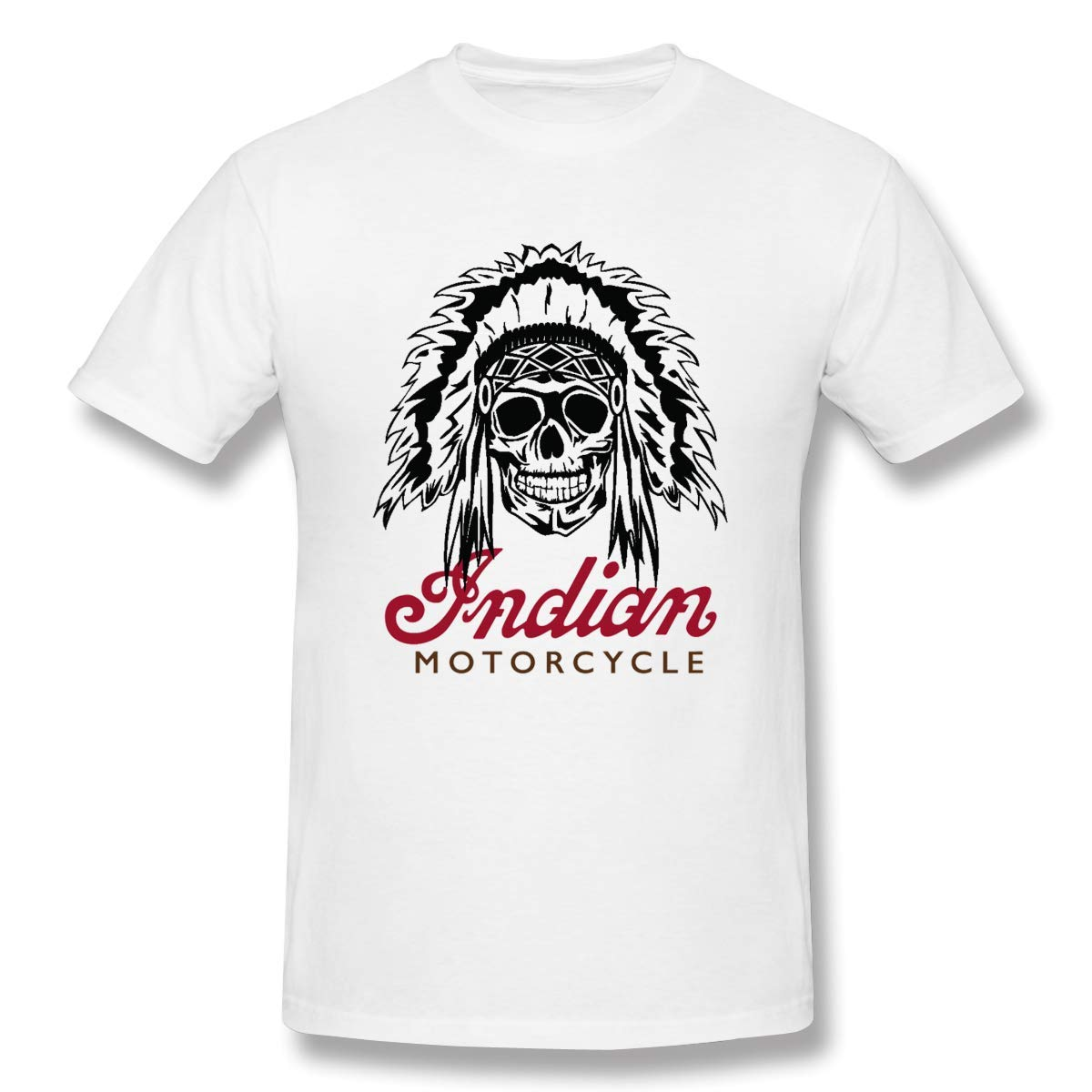 XEEQEE Indian-Motorcycle T-Shirt Unisesx Men Women Youth Cotton Tee