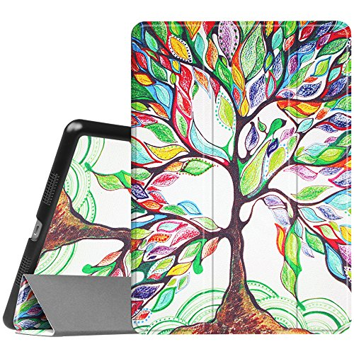 Fintie iPad Pro 10.5 Case - [SlimShell] Ultra Lightweight Standing Protective Cover with Auto Wake/Sleep Feature for Apple iPad Pro 10.5 inch (2017 Release), Love Tree