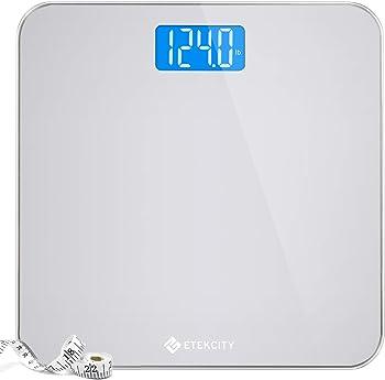 Etekcity Digital Bathroom Scale with Body Tape Measure