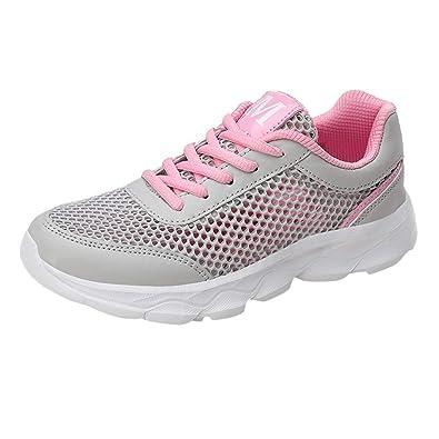 Sportschuhe Fenverk Sneaker Slip Outdoor On Turnschuhe Damen IYvmb76gfy