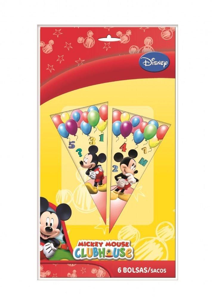 Verbetena, 014000751, 6 bolsas cono mickey mouse: Amazon.es ...