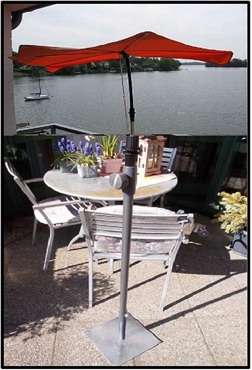 Holly ROTER - Sombrilla pequeña para balcón, con parasoles + ...