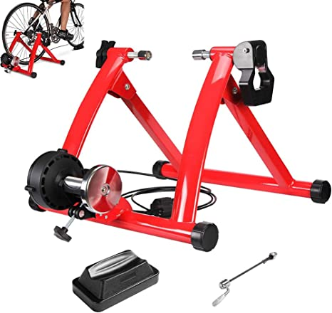 GSTARKL Entrenamiento Bicicleta Rodillo, Bicicleta Fija Soporte ...