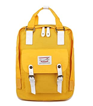 Classic Original Kanken Women Students Fashion Backpack Mochila Feminina Travel School Bags Bagpack Yellow