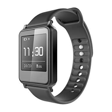 i7 Heart Rate Monitor Reloj Inteligente, Bluetooth 4.0 Fitness Tracker Smart banda pulsera inteligente paso