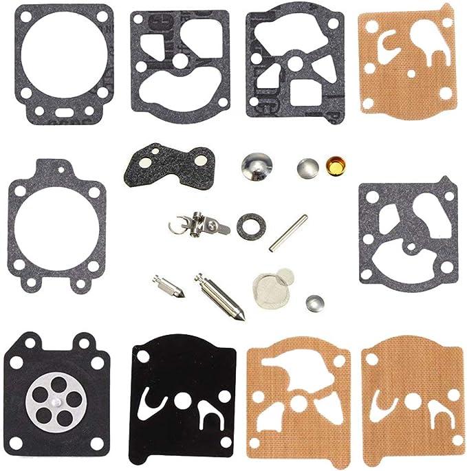 Parrshop Joint diaphragme de carburateur Rebuild kit de r/éparation pour Walbro K20-wat WA WT Carburateur Echo McCulloch Homelite Husqvarna Jonsered Stihl