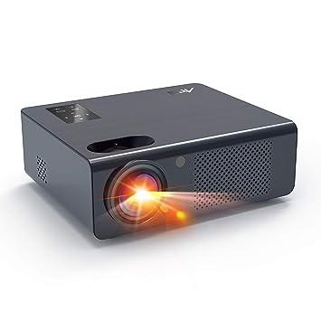 Artlii Energon - Retroproyector, función Zoom, proyector Full HD ...