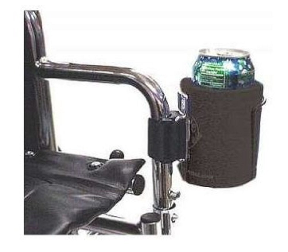 Patterson Medical Cage Cup Holder With Black Insulated Jacket