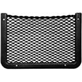 "Framed Stretch Mesh Net Pocket for Auto, RV, or Home Organization and Storage (8"" x 11"")"