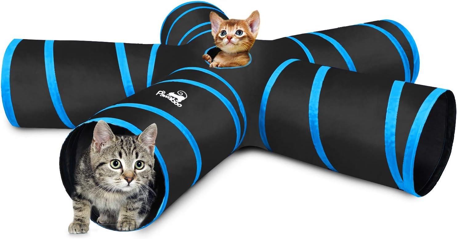 Pawaboo Túnel de Mascotas Plegable, Bolsa de Almacenamiento de ...