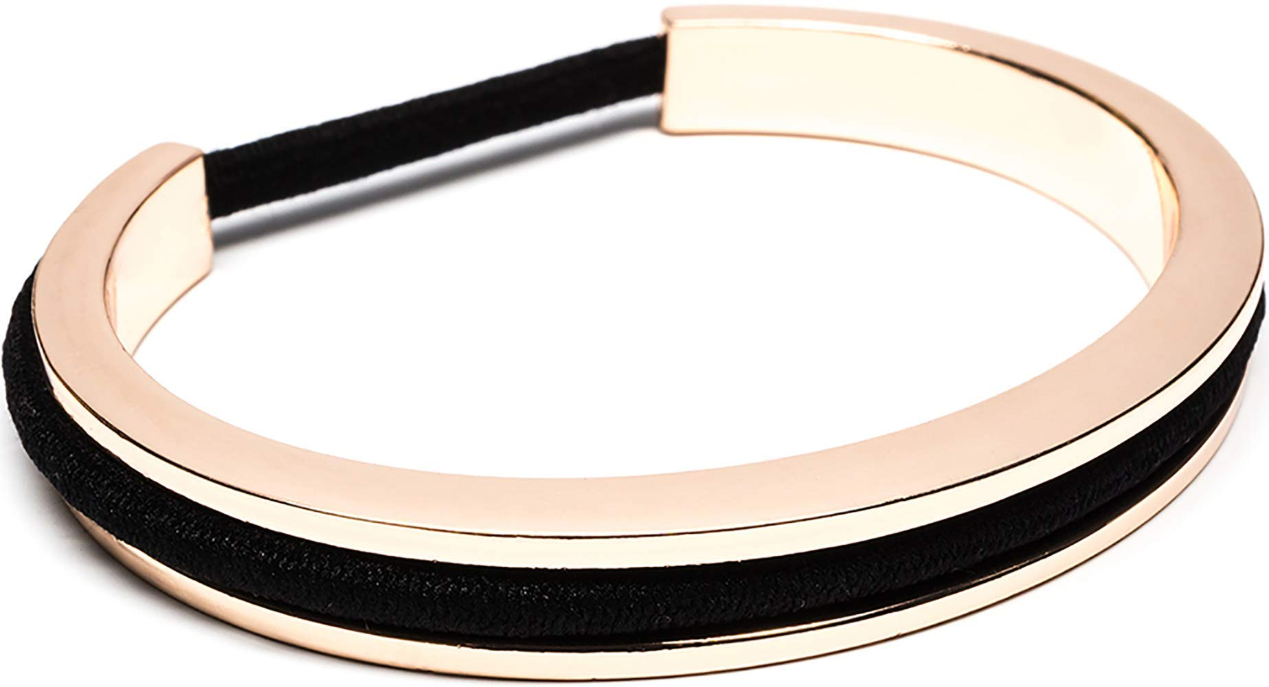 Maria Shireen  Classic Design Hair Tie Bracelet - Stainless Steel Hair Tie  Holder - Functional 6e563956906
