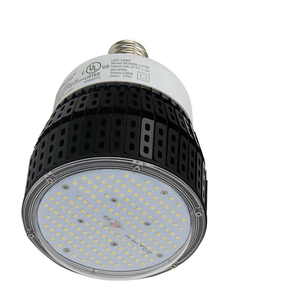 120 WハイベイLED lighting-12,500 lumen-400ワットHPS / MH電球equivalent-brightホワイト5000 K倉庫照明ac100 – 277 Vガレージジムライト B01N0Z2HYD