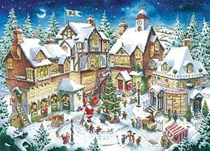 Ravensburger Santa's Christmas Wonderland 1000 Piece Christmas Puzzle