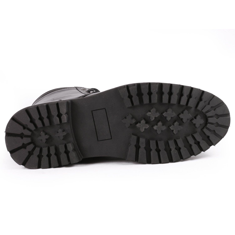 b8e9f166bc2 Metrocharm MC301 con cordones para hombre Toe Formal Dress Casual Fashion  Boots Negro