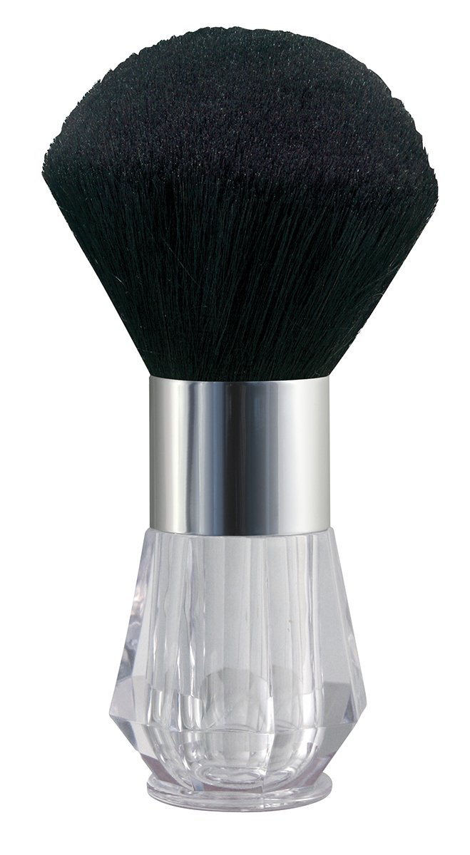 Crystal Neck Powder Brush - Goat Hair - Refillable by Comair 7000386