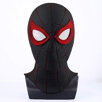 Children Spiderman Full Face Mask Super Hero Fancy Cosplay Breathable Mask UK